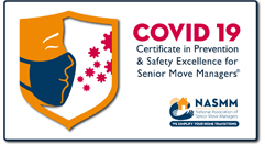 covid-19 CERTIFICATE IN PREVENTION & SAFETY EXCELLENCE FOR SENIOR MOVE MANAGERS